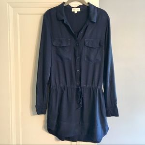 Cloth & Stone Navy Tunic